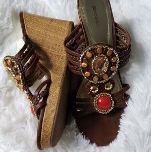 Style&co Wedges brown